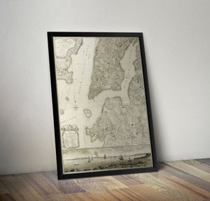 New York City - 1766 - Historia Posters