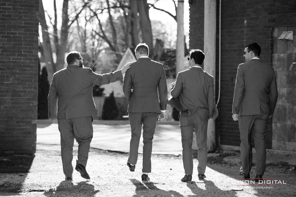Wedding Day Style - Groomsmen Suits