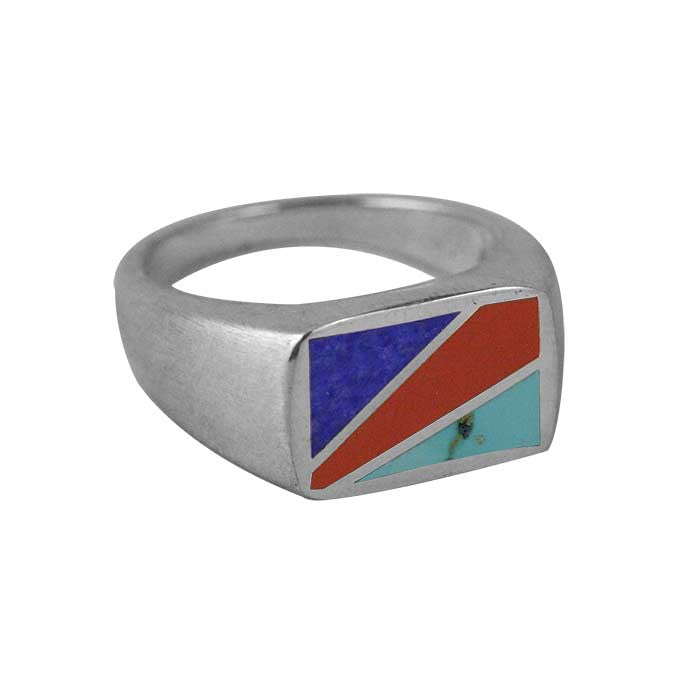 Gent inlay ring
