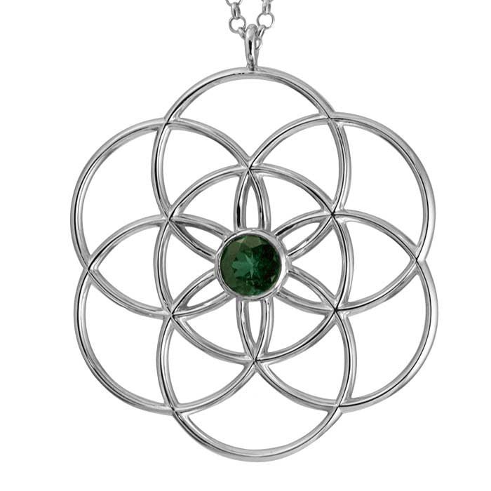 Seed of Life engagement pendant
