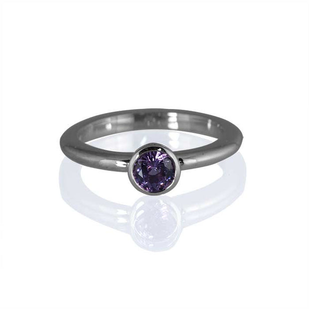 Purple Rain Spinel Ring