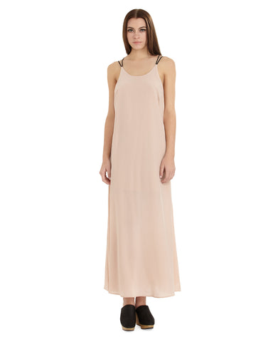 MYNE Milo Silk Dress | Blush Pink