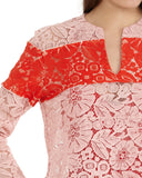 Monte floral lace top by Rachel Comey | detail view