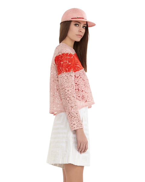 Monte floral lace top by Rachel Comey