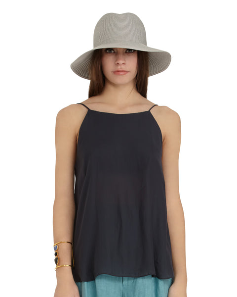 Morgan Carper Sera Top in Grey - FINAL SALE