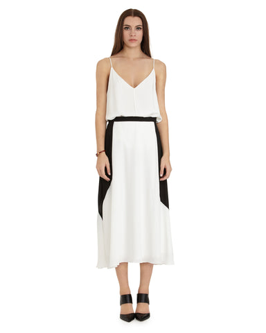 MYNE Storm Skirt | White & Black