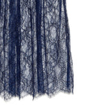 Ryan Roche | Lace Skirt in Navy
