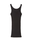 LAmade Double U Tank Top in Black