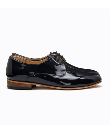 Dieppa Restrepo Cali Oxford shoes | Patent Leather Navy Blue