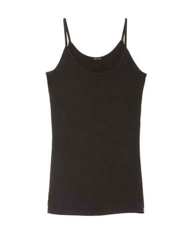 LAmade Deep Scoop Cami | Black
