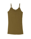 LAmade Deep Scoop Cami Top | Military Green