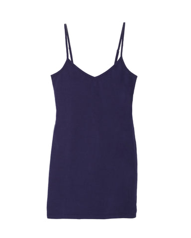 LAmade V Neck Slip Dress in Blue