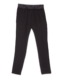 The Podolls | Boxer Silk Pants in Black