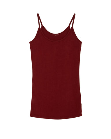 LAmade Cami top in Syrah Red