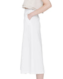 Apiece Apart Karin Slit Skirt in White