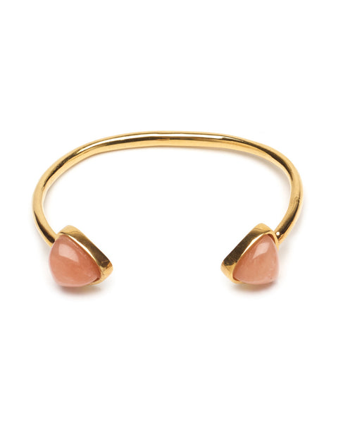 Lizzie Fortunato Inca Cuff in Light Peach
