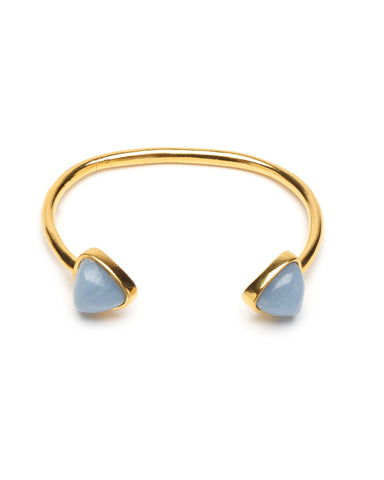 Lizzie Fortunato Inca Cuff in Angelite