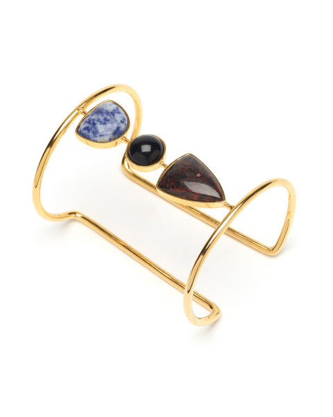 Lizzie Fortunato Illumination Cuff in Jet Set