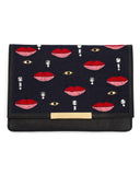 Lizzie Fortunato Port of Call Clutch in Disco Lip