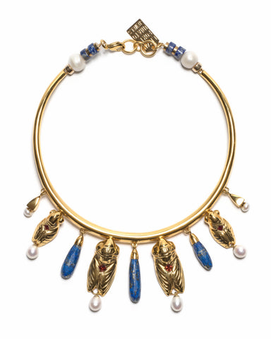 Lizzie Fortunato Cleopatra Collar Necklace