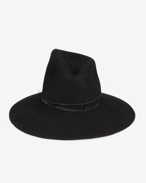 Gigi Burris Millinery | Drake Felt Hat in Black
