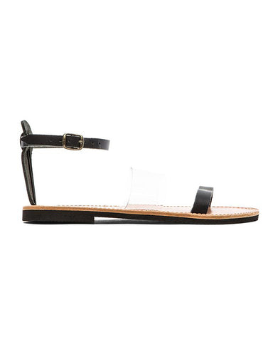 Isapera Sandals | Yialos in Black - FINAL SALE