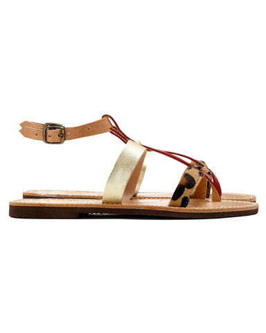 Isapera Sandals | Azalea in Red