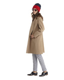 Fleurette Wool Coat in Camel | SAANS.COM