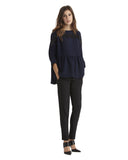 Reunion Top in Navy Blue by Rachel Comey