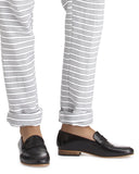 Lemlem Tara Pant in Grey | Cuff Detail