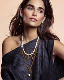 Lizzie Fortunato New Moon Convertible Necklace