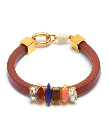Lizzie Fortunato Color Riot Bracelet | Brown