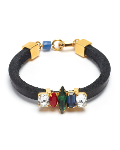 Lizzie Fortunato Color Riot Bracelet | Black