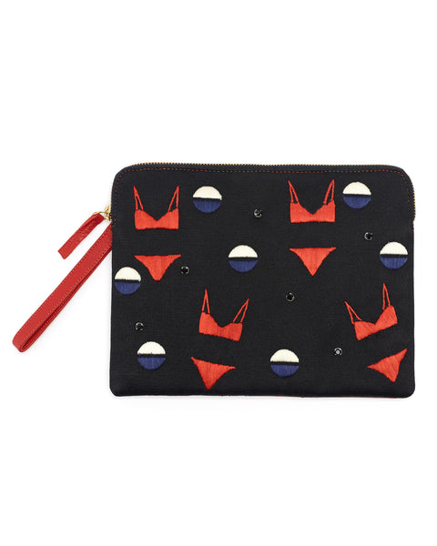 Lizzie Fortunato Safari Clutch in Bikini