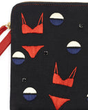 Lizzie Fortunato Safari Clutch in Bikini detail view