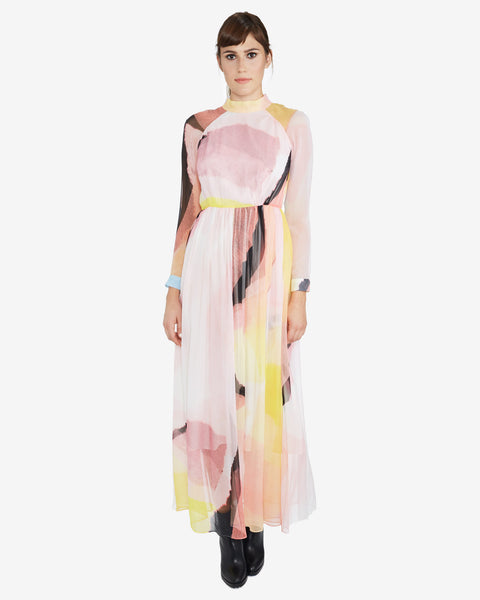 Rachel Comey's New Miramar Silk Dress in Pink