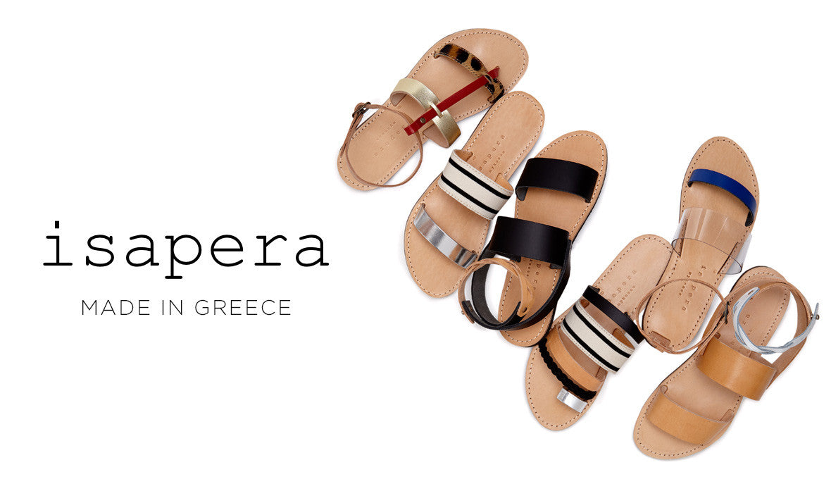 Shop Isapera | Greek Sandals and Clothing Made in Greece