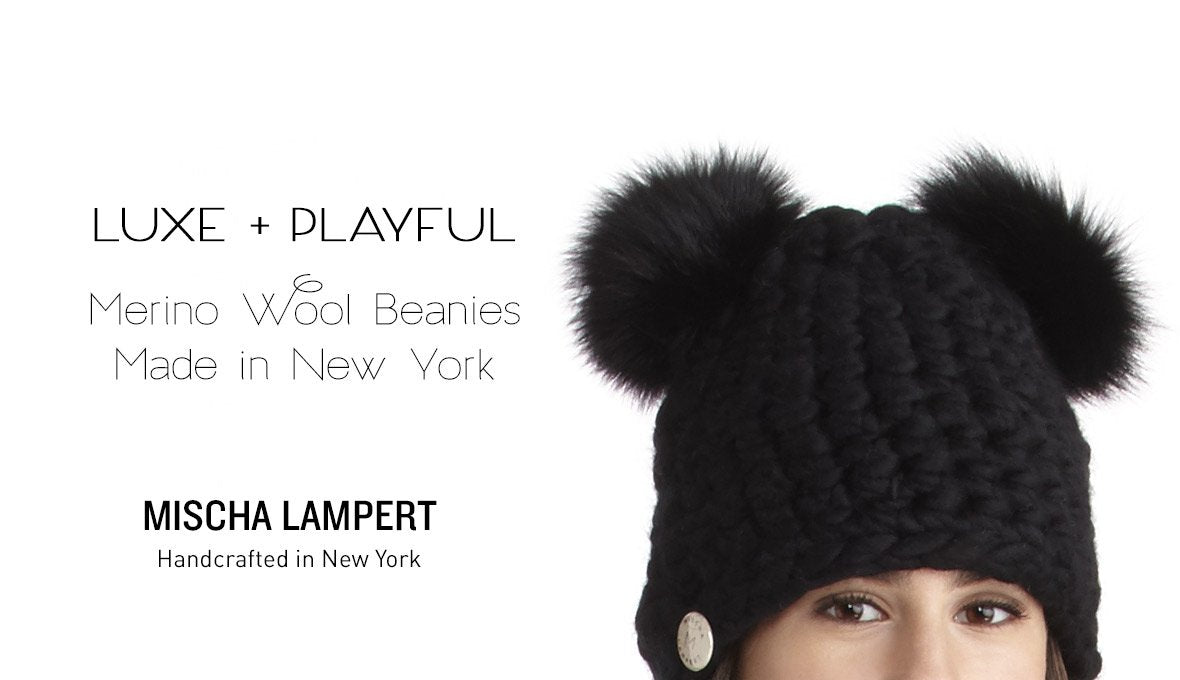 Mischa Lampert Beanies and Hats | Made in New York