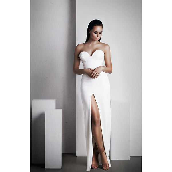 'No Limit' Dress in White