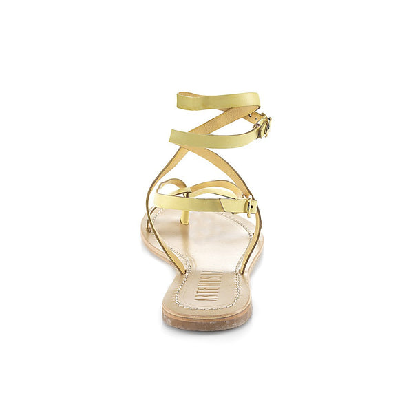 Roman Yellow Sandal