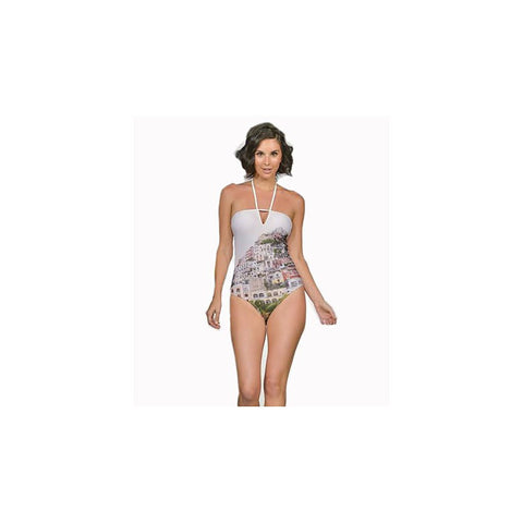 Positano Print One Piece