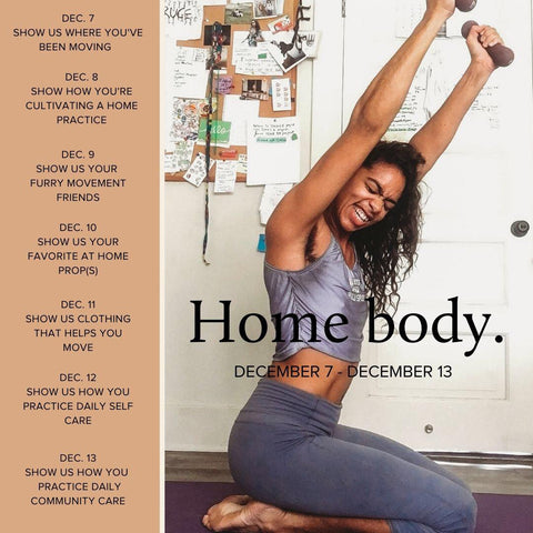 Core To Coeur #HomeBody Challenge