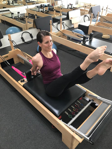 Good Citizen CEO & Creator Using Personal Pilates Loops
