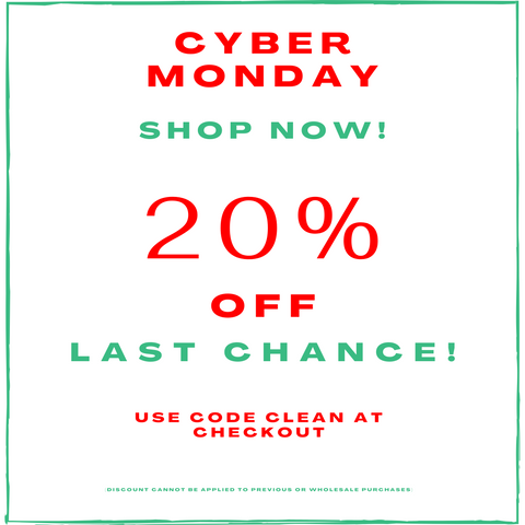 Cyber Monday Sale! 20% Off Entire Site!!!
