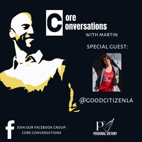 Good Citizen is Speaking with Martin Reid on Core Conversations