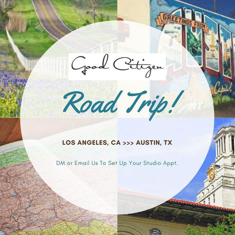 Good Citizen Is Road Trippin' To Texas