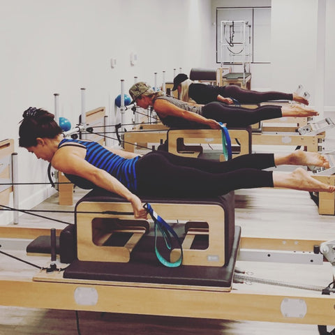 Pilates lovers are using Good Citizen Pilates Reformer Loops on Pilates Reformers