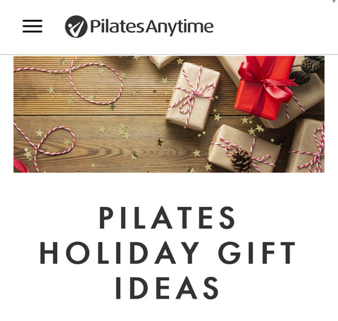 Pilates Holiday Gift Ideas