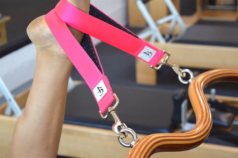 pink Arcus Bar Loop Straps