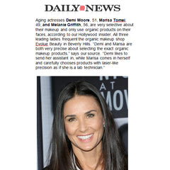 Daily News New York: Demi Moore, Marisa Tomei, and Melanie Griffith frequent Evolue